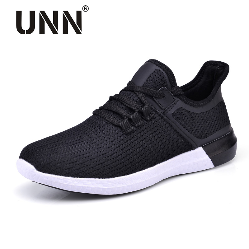 UNN Unisex Running Shoes Men New Style Breathable Mesh Sneakers Men Black Light Sport Outdoor Women Shoes Purole Size EU 35-44