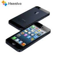 Offre spéciale d'origine Iphone 5 A5 usine débloqué téléphone portable iOS double core 1G RAM 16 GB 32 GB 64 GB ROM 4.0 '8MP caméra WIFI 3G GPS