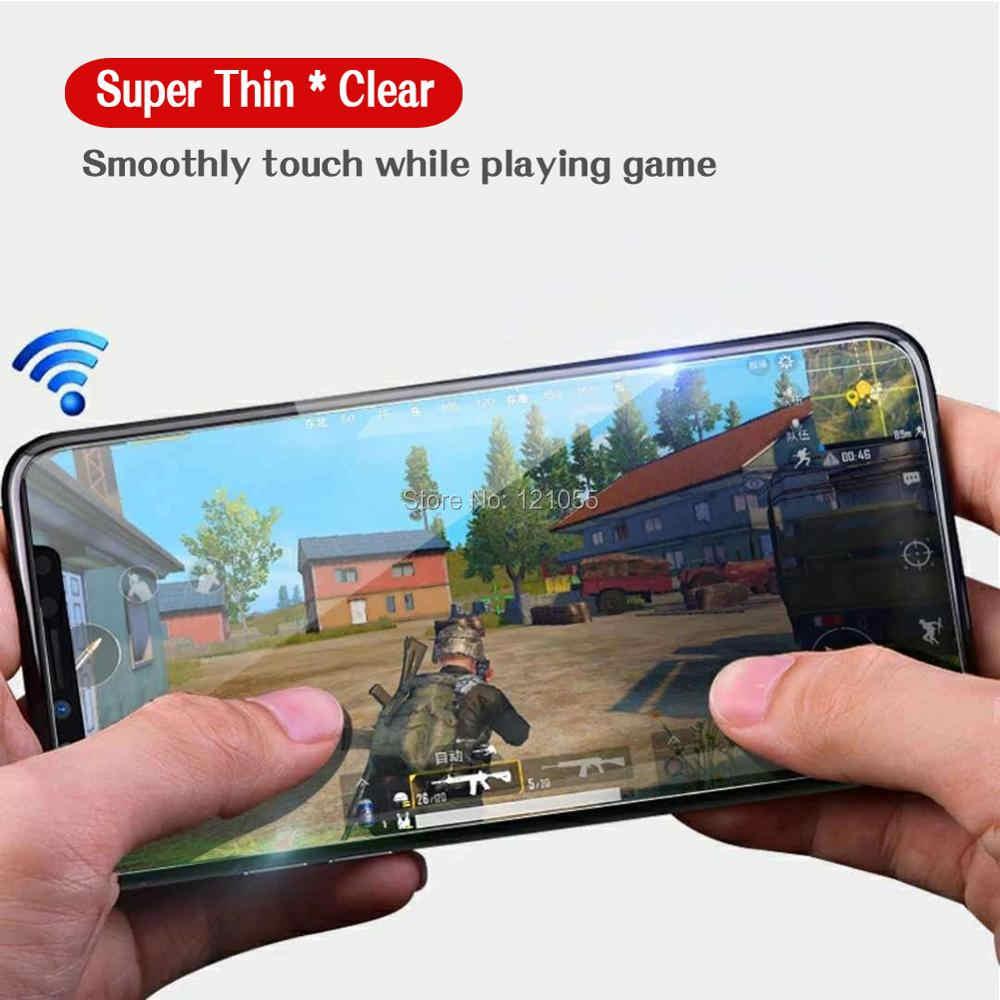 Adsorpsi Logam Magnetic Case untuk iPhone 11 Pro XS Max XR X 7 6 6S Plus Mewah Tempered kaca Magnet Penutup Aluminium 10 Buah/BANYAK
