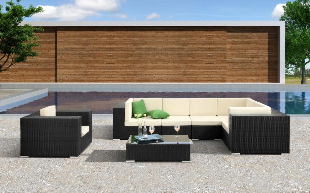 sof muebles de sala mateus unid modular seccional sof de mimbre al aire libre