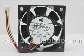 E500 frequenzumrichter lüfter CB0500H01 MMF 06D24ES FC4 60*25 MM 6 cm fan-in Lüfter & Kühlung aus Computer und Büro bei