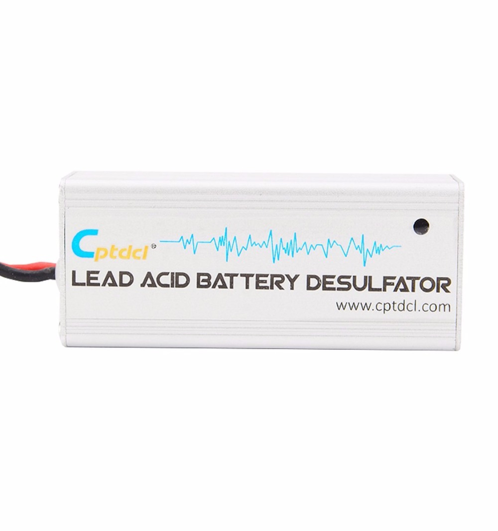 12 Volts Lead Acid Battery Desulfator Battery Maintainer For Cars, Motorcycles, ATV, Boat, RV With Box