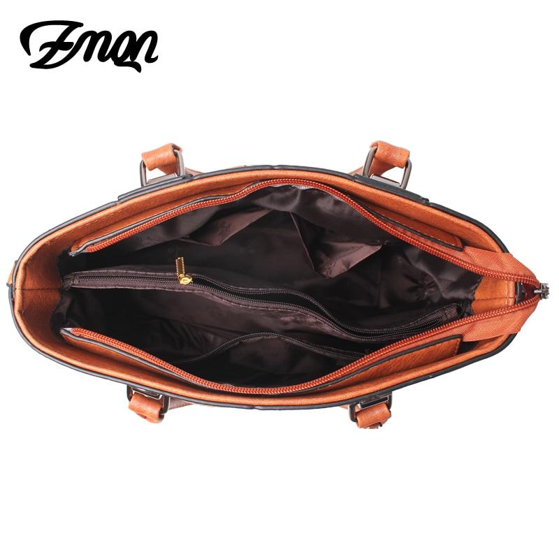 Image 4 - ZMQN Handbag Female Crossbody Bag For Women Bag 2020 Designer  Handbags Famous Brand Leather Hand Bags Ladies Bolsa Feminina  A821Top-Handle Bags