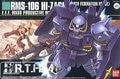 Bandai HGUC 55 RMS-106 Hi-Zack Gundam model Kits Assembled model scale model