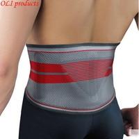 Exclusive design silica gel sports waist support belt lumbar back support fitness bodybuilding equipment free shipping #WA5603