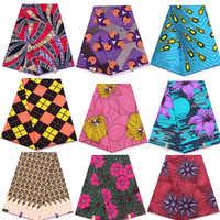 Ankara africain cire véritable néerlandais cire tissu afrique imprime tissu 100% Polyester haute qualité couture robe matériel 6yards