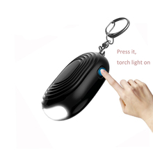 High level quality torch light Personal guard alarm Women defense self defense device protection security device
