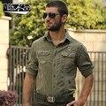 Новый свободного покроя мужская мужской мода военных инструментов с длинными рукавами вельвет хлопок вельвет куртка толщиной бесплатная доставка