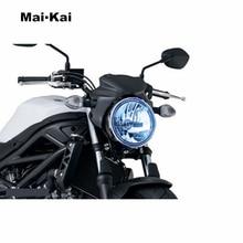 лучшая цена MAIKAI FOR Suzuki SV650 SV-650 SV 650 16-18 SV650X SV-650X SV650 X 18 motorcycle Headlight Protector Cover Shield Screen Lens