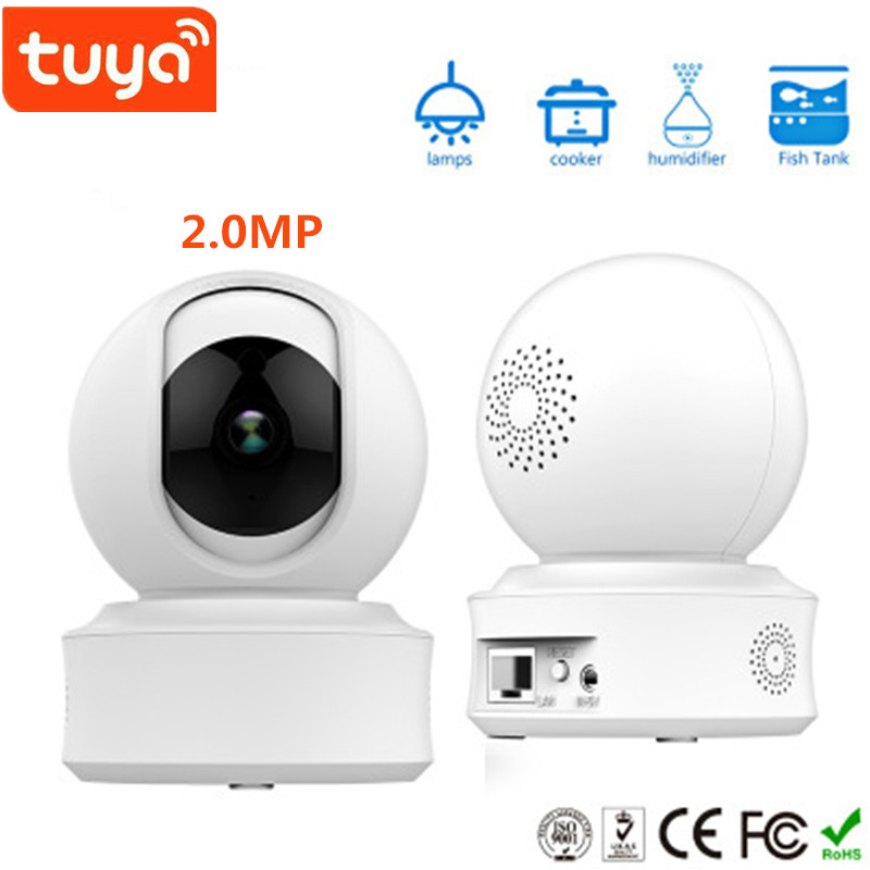 Tuya Smart App Wifi HD IP Camera with 2.0MP High solution Two Way Audio Smart IP cameraTuya Smart App Wifi HD IP Camera with 2.0MP High solution Two Way Audio Smart IP camera