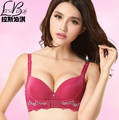 Deep V sexy lingerie Cheap new 2016 fashion women's Ms United States back bra small chest thickness gather close adjustable bra