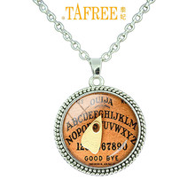 TAFREE Best Deals Ever Coth Vintage Ouija Board Pendant Antique Style Spirit World Pendant personalized gift for women N 031(China)