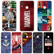 Marvel Avengers Comics Phone Case For Huawei Mate 20 10 P30 P20 Pro P10 P8 P9 Lite 2017 P Smart 2019 Case For Huawei P30 TPU(China)