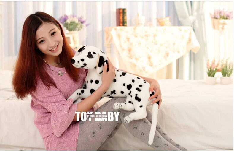 simulation animal plush toy about 60cm prone Dalmatian dog doll Christmas gift w1071 simulation animal huge tiger doll about 110x 70cm plush toy high quality birthday gift christmas gift t3442