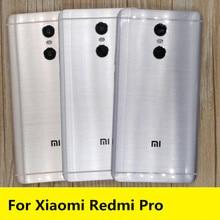Novo para redmi pro peças de reposição frete grátis voltar bateria capa porta habitação + botões laterais lente flash da câmera para xiaomi redmi pro