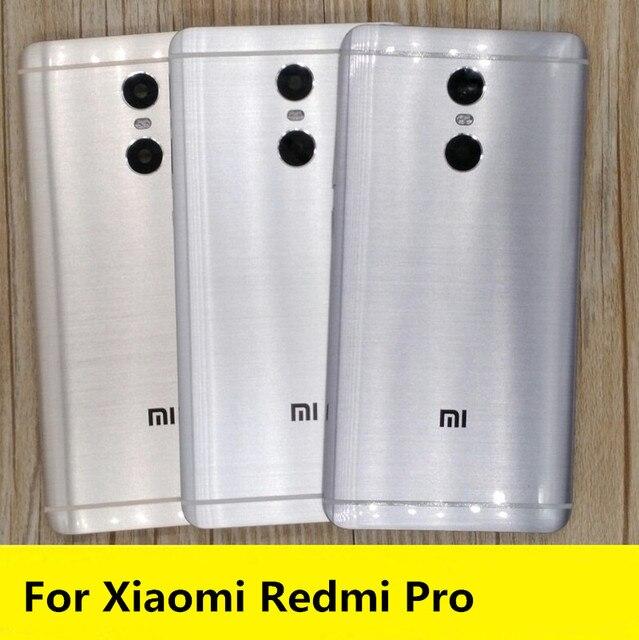 Repuestos profesionales para Redmi, carcasa trasera para batería, botones laterales, lente Flash de cámara para Xiaomi Redmi pro