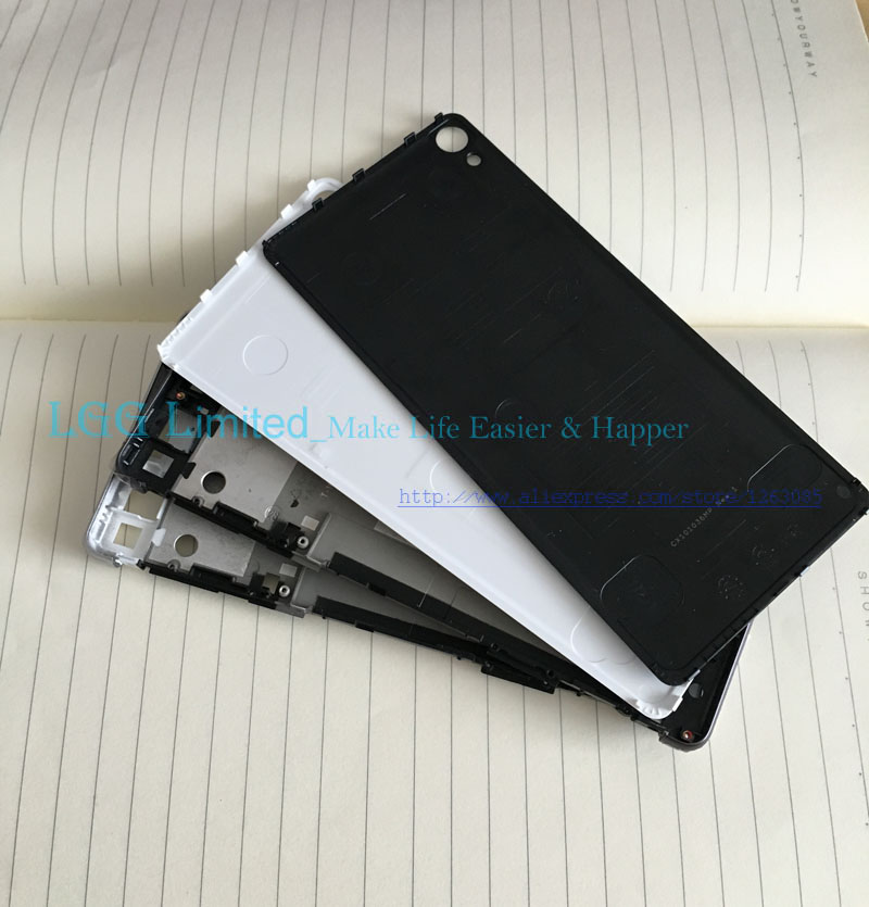 for <font><b>Sony</b></font> <font><b>Xperia</b></font> <font><b>XA</b></font> F3111 F3113 Back <font><b>Battery</b></font> Cover Rear Door Shell Housing 5.0'' middle front frame For <font><b>Xperia</b></font> <font><b>XA</b></font> <font><b>Battery</b></font> cover image