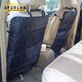 Proteção à prova d' água Anti Chutando Acolchoado Bebê Criança Assento de Carro de Volta de Chinelo Protetor Sujeira Acessórios De Armazenamento Organizador