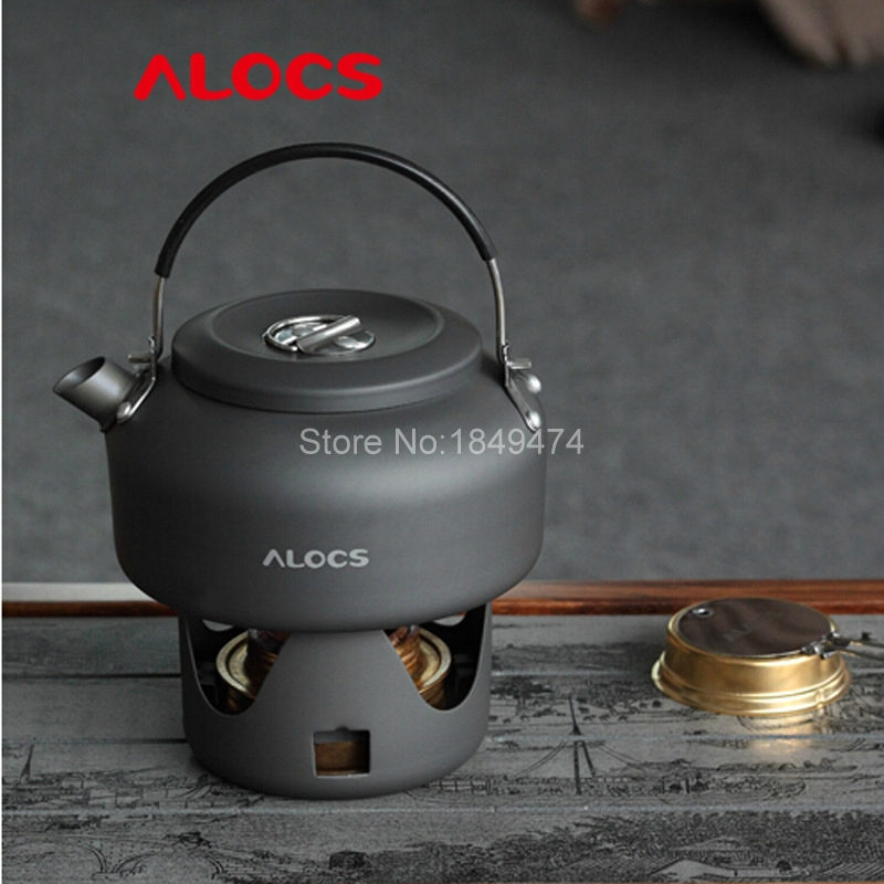 Alocs Cw-k02 0.8l Camping Kettle Cookware Water Pot Teakettle Ultralight Camping Equipment Cooking Pots Tencere Picnic Tool 100g Special Buy