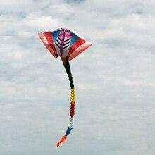 Высокое качество 15 m большой кулон скат кайт Открытый летающие игрушки мягкие воздушные змеи для взрослых parafoil fun factory surf