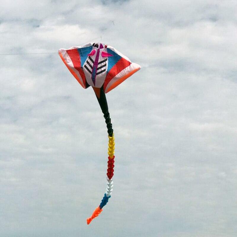 Livraison gratuite de haute qualité 15 m grand pendentif diable poisson cerf-volant jouets de plein air volants cerfs-volants doux pour adultes parafoil fun factory surf