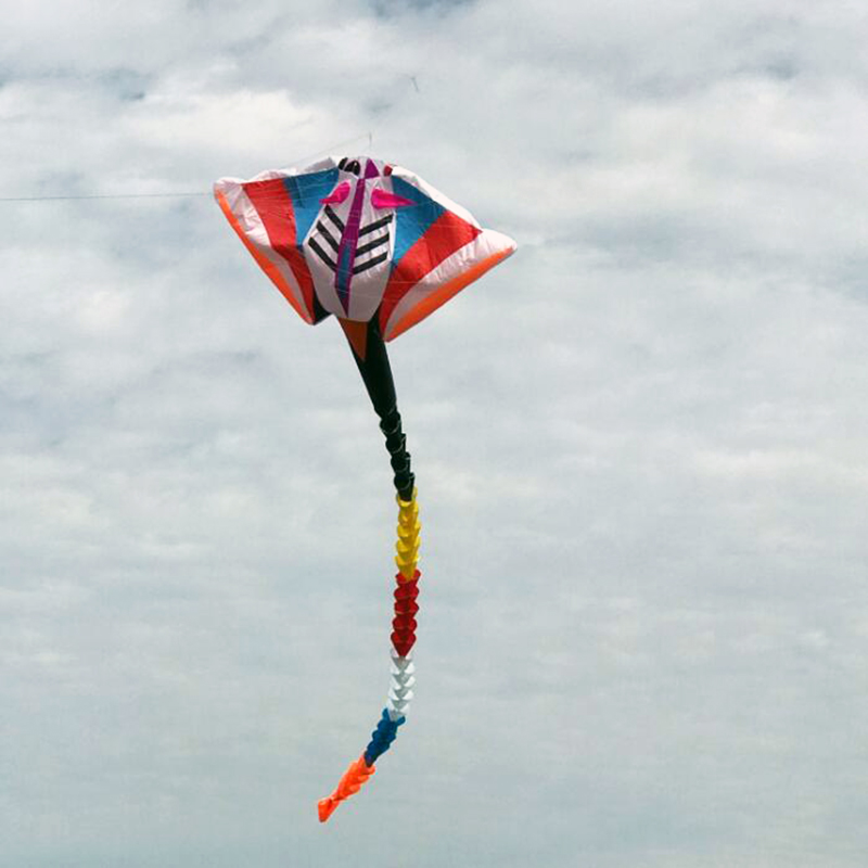 free shipping high quality 15m large pendant devil fish kite outdoor toys flying soft kites for adults parafoil fun factory surf