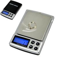 2000 גרם x 0.1 גרם דיגיטלי לשקול Pocket תכשיטי מאזן SCALE