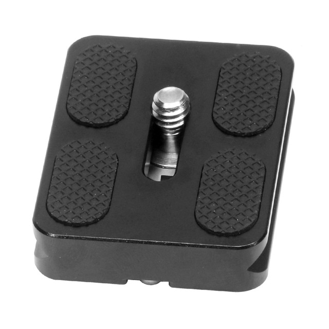 XILETU Universal Tripod Monopod Ball Head Quick Release Plate Head 50x38x10mm PU50 DSLR Accessory Q19816
