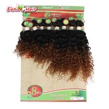Ombre Brown Brazilian Braiding font b Human b font Curly font b Hair b font Free