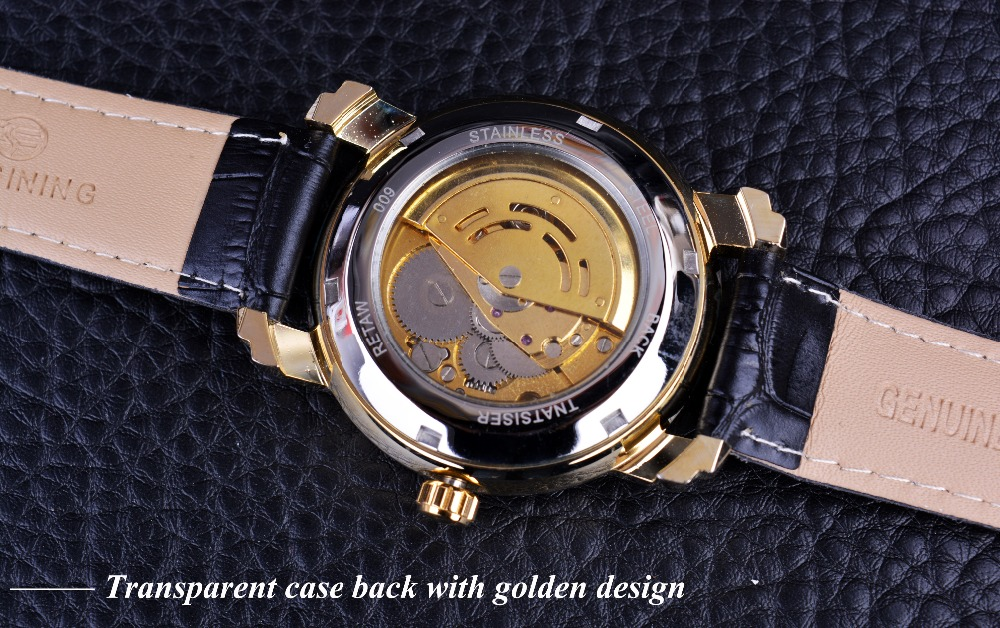 forsining золотой роскошные гофрированная дизайнер мужские часы лучший бренд автоматического роскошного маленький циферблат дисплей Алмазный часы скелет