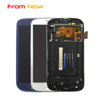 Replacement LCD For Samsung Galaxy S3 SIII I9300 I9301 I9308 Lcd Screen Display Touch Glass Digitizer