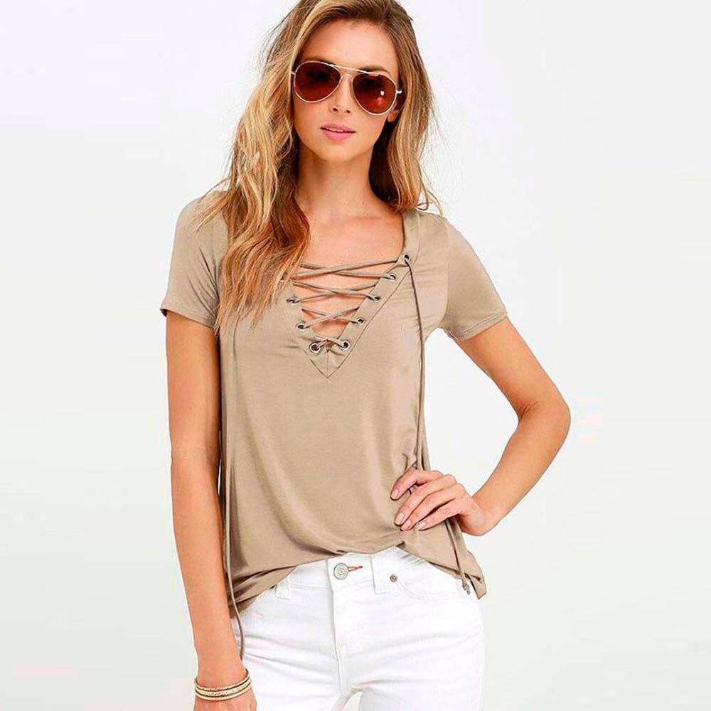 T-shirt 2017 Summer Top Sexy Durable shirt Womens harajuku Loose Pullover  tee shirt femme Top Short Sleeve Tops Shirt tee