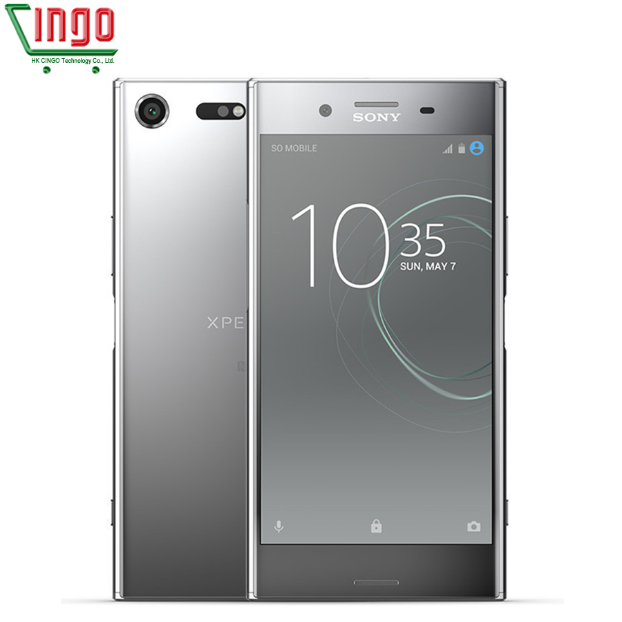 Sony xperia xz premium G8142 4G RAM 64G ROM Double Sim 19MP Octa Core NFC Android charge rapide 3.0 3230 mAh 4G LTE téléphone portable