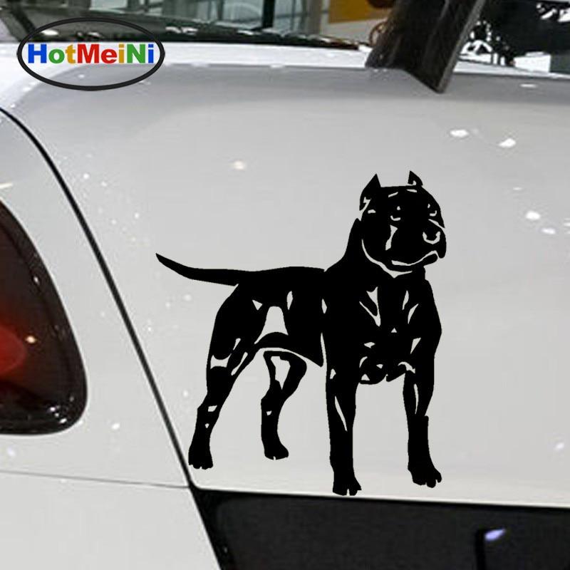Pit Bull Car Sticker Car Styling Reflective Silver Bumper//Window//Laptop Decal