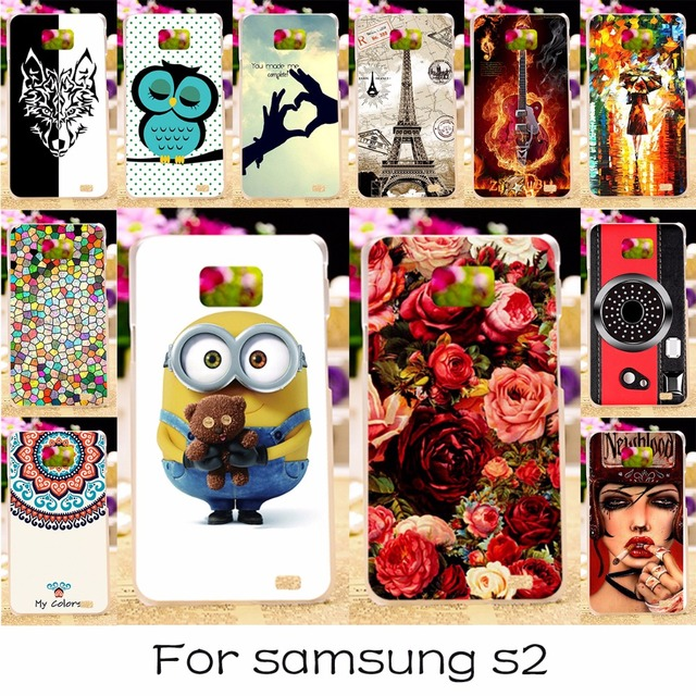 TAOYUNXI Phone Case For Samsung I9100 Galaxy S2 S II I9100G Cover I9108 I9100p SII GT-I9100 4.3 Inch Silicone Plastic Shell Skin