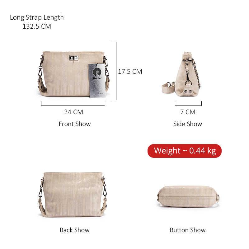 Mais real couro genuíno das mulheres bolsa de ombro para senhoras casuais totes famosa marca feminina sacos crossbody grande capacidade pacote