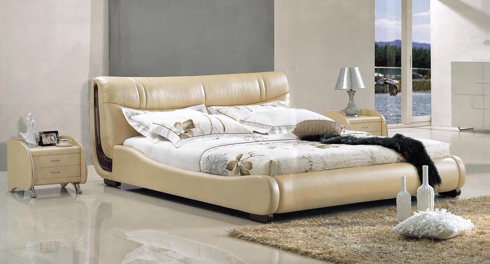 Aliexpress Wood Double Bed Designs F099 From Reliable White Suppliers On Foshan Wing Furniture Manufacturing Factory
