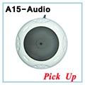 De alta sensibilidade de captação de áudio de vigilância som cctv microfone cancelador de ruído dinâmico microfone para a câmera ip de vigilância de áudio