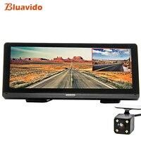 Bluavido 8 ips Автомобильный dvr gps 4G Android навигация ADAS Full HD 1080p тире камера двойной объектив Автомобильный видео рекордер дистанционный живой монит