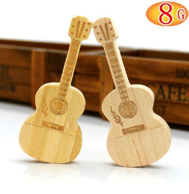 New style mini guitar USB flash pen drive Memory Stick 4g 8g 16g 32g 64g Thumb/Car key/Pendrive U Disk/Creativo Gift S179