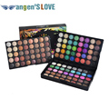 Popfeel Beauty 120 Colors Cosmetic Powder Eyeshadow Palette Makeup Set Matte Nude Eyeshadow