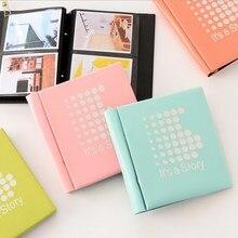 DIY100 Pockets Polaroid Photo Album 4 inch Ice Dot Series Mini Instant Picture Family Memory Baby Scrapbook Album  Inset Album цена