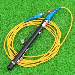 Image 2 - KELUSHI 10mw 10km pen fibra óptica Cable láser localizador de fallos prueba de fibra, prueba de fibra óptica y medición herramienta de probador de fibra