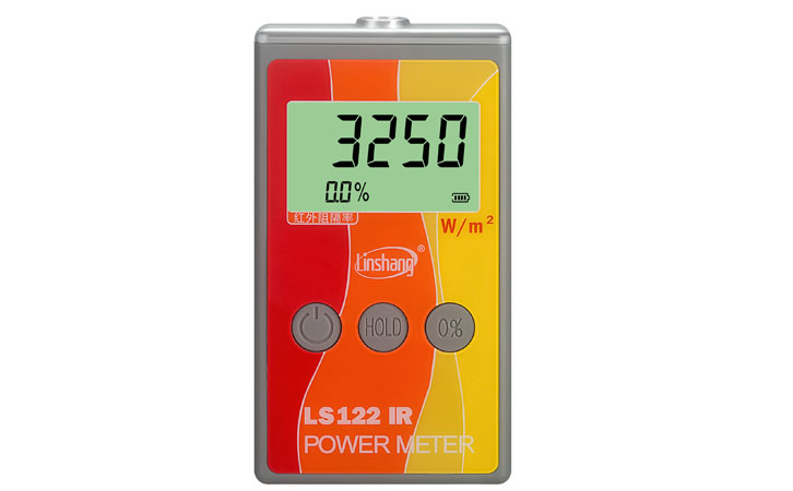 New LS122 Portable IR Solar Power Meter Linshang direct selling test infrared intensity with rejection value VKOOL Energy Tester sm206 solar power meter for solar research