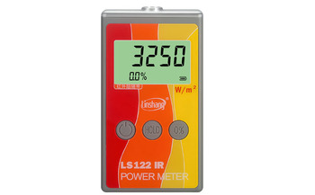 New LS122 Portable IR Solar Power Meter Linshang direct selling test infrared intensity with rejection value VKOOL Energy Tester