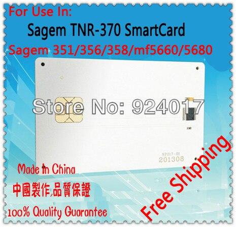 For Samsung TNR-370R TNR-370 TNR370R TNR370 TNR 370R 370 Samart Card Toner Chip,For Sagem Laser Pro 351 356 358 Printer Toner