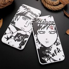Naruto Sketch cool Naruto mens case of silicone back cover for Apple iphone (19 Types)