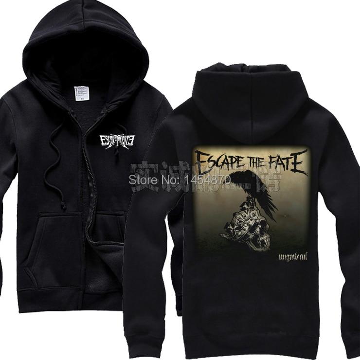 5 designs Sweden Arch Enemy Cotton Rock hoodies winter jacket punk heavy death metal black men