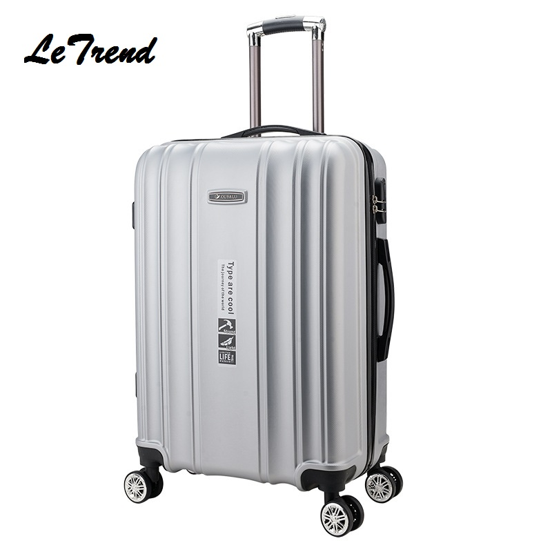 New!Fashion 2024 Inches Trolley Case ABS Students Travel Waterproof Luggage Rolling Suitcase Extension Boarding Box 2024 inches combination lock trolley case abs students women travel frosted luggage rolling suitcase men business boarding box
