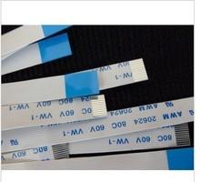 FREE SHIPPING NEW for 10pcs/Lot Flat Ribbon Flex Cable 12pin For HP DV6500t CTO DV6000 Series E118077 AWM 2896 80C VW 1